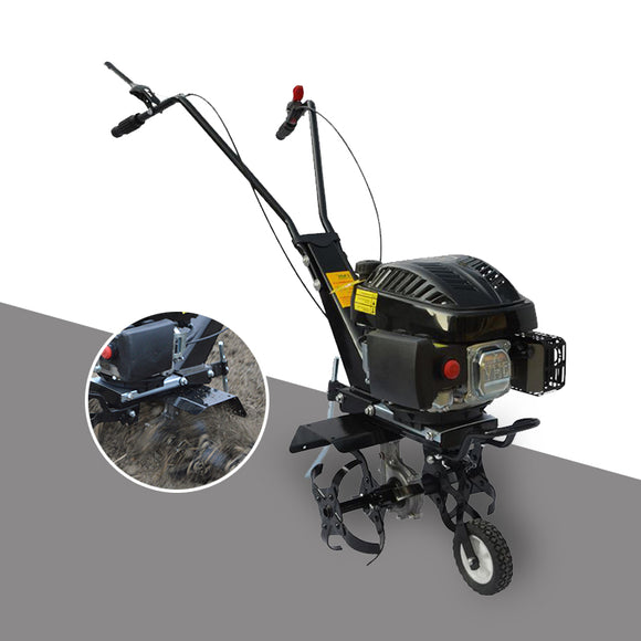 Small gasoline ripper rotary tiller orchard vegetable garden cultivation machine weeding soil four-stroke cultivation tool