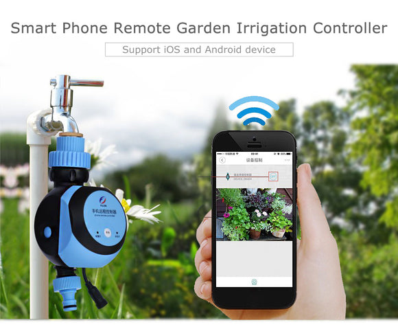 Automatic Intelligent Electronic Water Timer remote controller watering