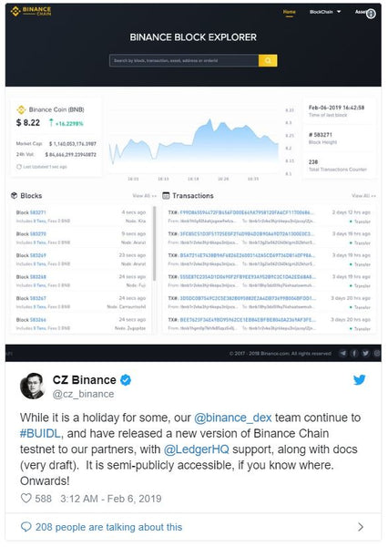 Binance Prepares for Liftoff From Ethereum