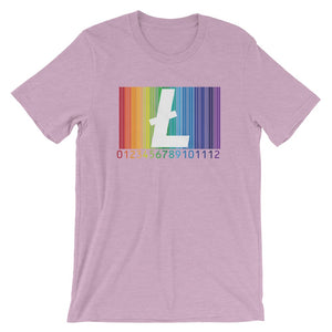 Be Proud Litecoin Unisex T-Shirt - Heather Prism Lilac / Xs - T-Shirt