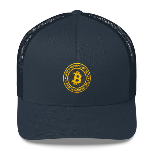 Bitcoin Seal Trucker Cap
