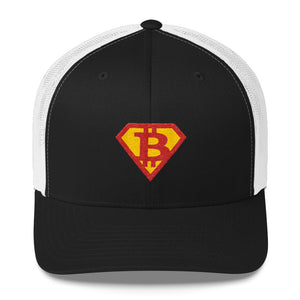Super Bitcoin Trucker Cap