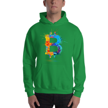 Load image into Gallery viewer, Bitcoin Splash Hoodie Sweatshirt