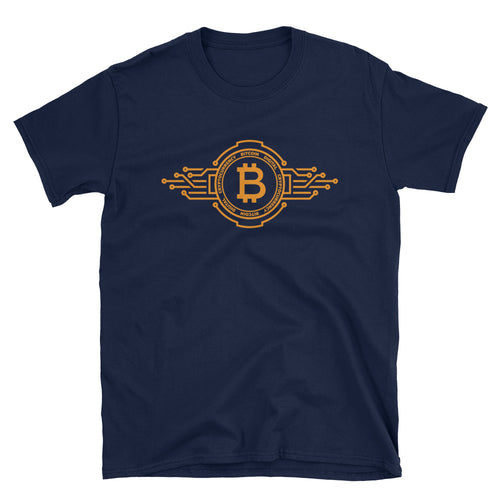 Bitcoin Circuit Short-Sleeve Unisex T-Shirt