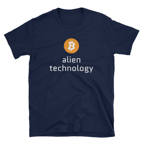 Bitcoin Alien Technology Short-Sleeve Unisex T-Shirt