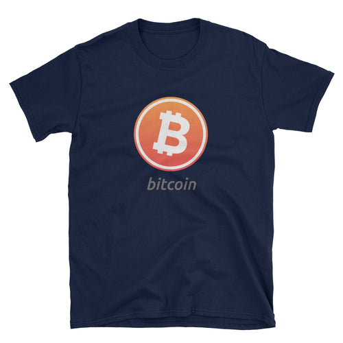Bitcoin Digital Short-Sleeve Unisex T-Shirt