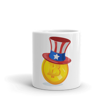 Load image into Gallery viewer, Bitcoin Uncle Sam Mug