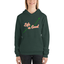 Load image into Gallery viewer, Life Is Good Unisex hoodie