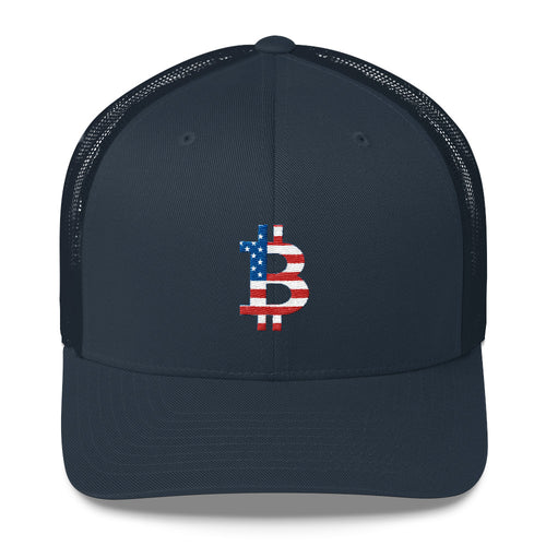 Bitcoin USA Trucker Cap
