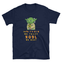 Load image into Gallery viewer, Bitcoin Trust HODL We Must Short-Sleeve Unisex T-Shirt