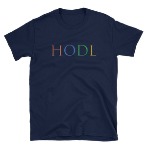 HODL Colorful T-Shirt
