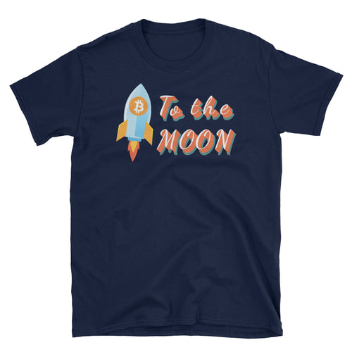 To The Moon Short-Sleeve Unisex T-Shirt