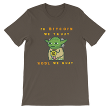 Load image into Gallery viewer, Hodl we must t-shirt