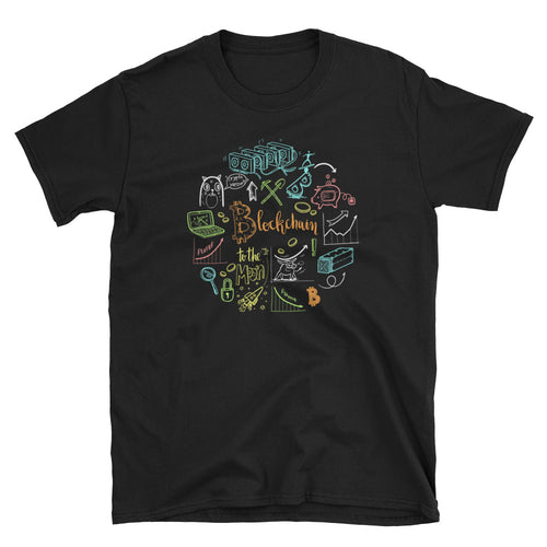 Blockchain Collage Short-Sleeve Unisex T-Shirt