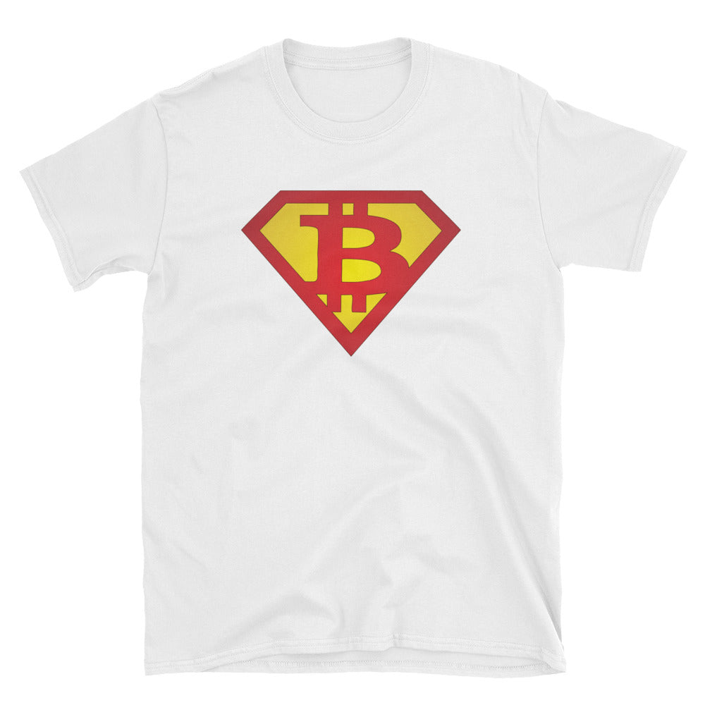 Superman Bitcoin Short-Sleeve Unisex T-Shirt