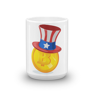 Bitcoin Uncle Sam Mug