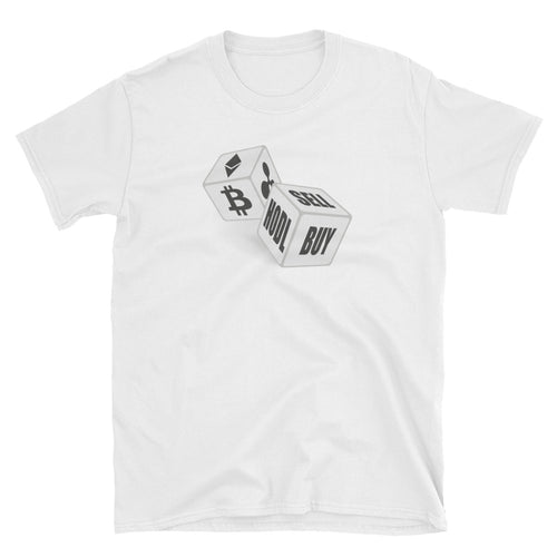 Bitcoin Gambling Short-Sleeve Unisex T-Shirt