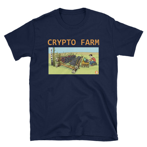 Crypo Farm Short-Sleeve Unisex T-Shirt