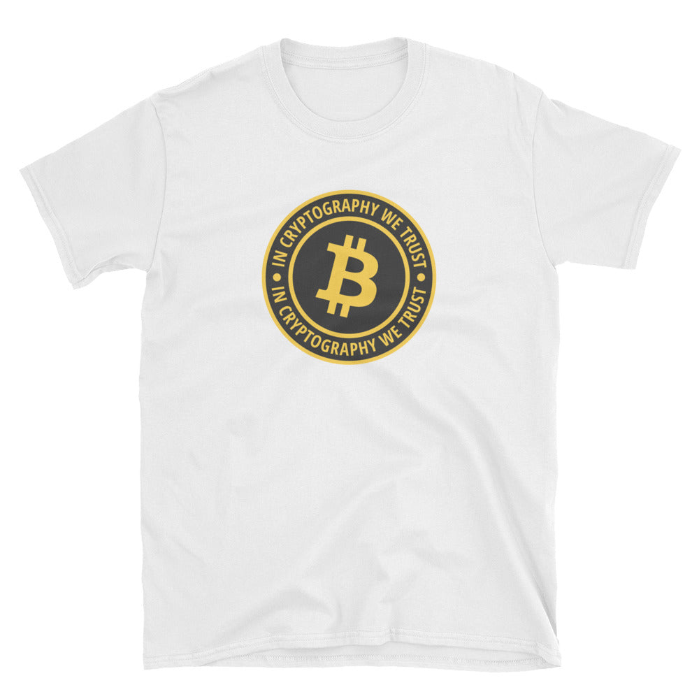 In Cryptography We trust Short-Sleeve Unisex T-Shirt