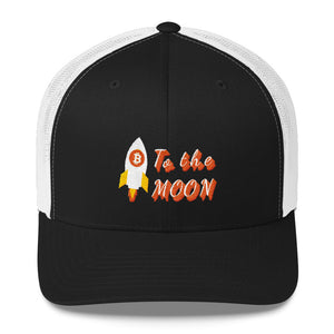 To The Moon Trucker Cap