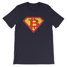Load image into Gallery viewer, Superman Bitcoin T-Shirt