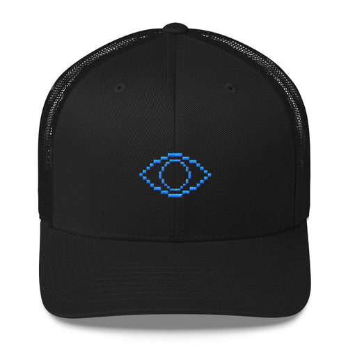 Pixel Eye Trucker Cap