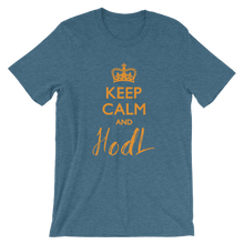 Load image into Gallery viewer, Keep Calm Hodl  T-shirt