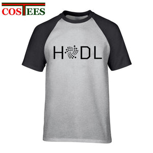 Hodl Iota T Shirt Men Male Leisure White T-shirt Short Sleeve Custom Plus size 3XL Cryptocurrency tshirt Camisetas masculino Tee