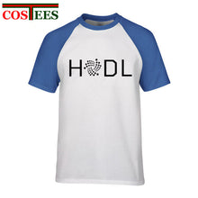 Load image into Gallery viewer, Hodl Iota T Shirt Men Male Leisure White T-shirt Short Sleeve Custom Plus size 3XL Cryptocurrency tshirt Camisetas masculino Tee