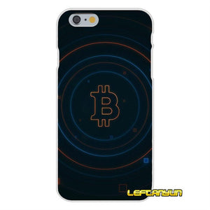 For iPhone X 4 4S 5 5S 5C SE 6 6S 7 8 Plus bitcoin coins Soft Phone Cover Case Silicone