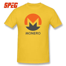 Load image into Gallery viewer, MONERO Crypto T-shirts Cryptocurrency Tee Movie Short Sleeve 5XL Round Collar T Shirts 100% Cotton Present Men's