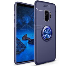 Load image into Gallery viewer, ZNP Luxury Magnetic Ring Stand Case For Samsung Galaxy S9 S8 Plus Note 8 Full Cover Case For Samsung S7 Edge J3 J5 J7 Phone Case