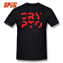 Load image into Gallery viewer, Crypto Trader Cryptocurrency T Shirt O-Neck Birthday Gifts 100% Cotton Graphic Mens T-Shirts Tees Short Sleeve