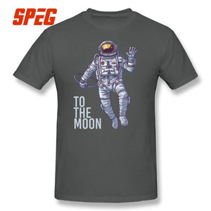 To The Moon Cryptocurrency Tee