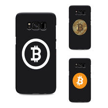 Load image into Gallery viewer, Bitcoin Silicone Case for Samsung
