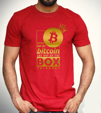 Load image into Gallery viewer, Bitcoin Out of the Box Thinkers Tee