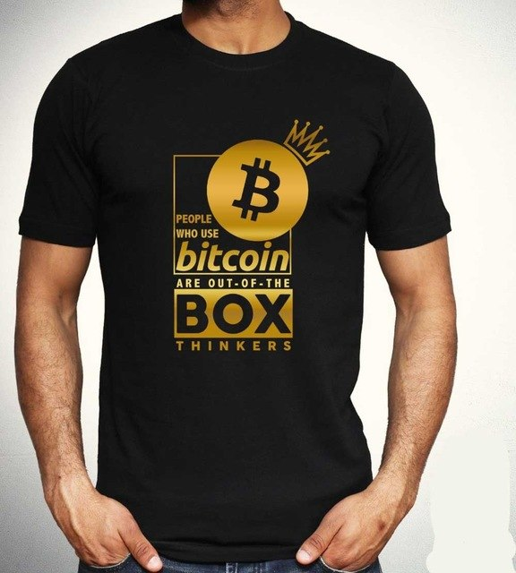Bitcoin Out of the Box Thinkers Tee