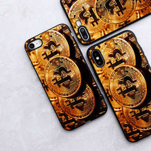 Load image into Gallery viewer, Minason Coque Bitcoin Fundas Capinha Phone Case for iPhone X 5S XR XS Max SE 6 S 6s 7 8 Plus Cover Silicone Capas Capinhas