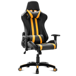 Bitcoin Style High Back Reclining Gaming Chair