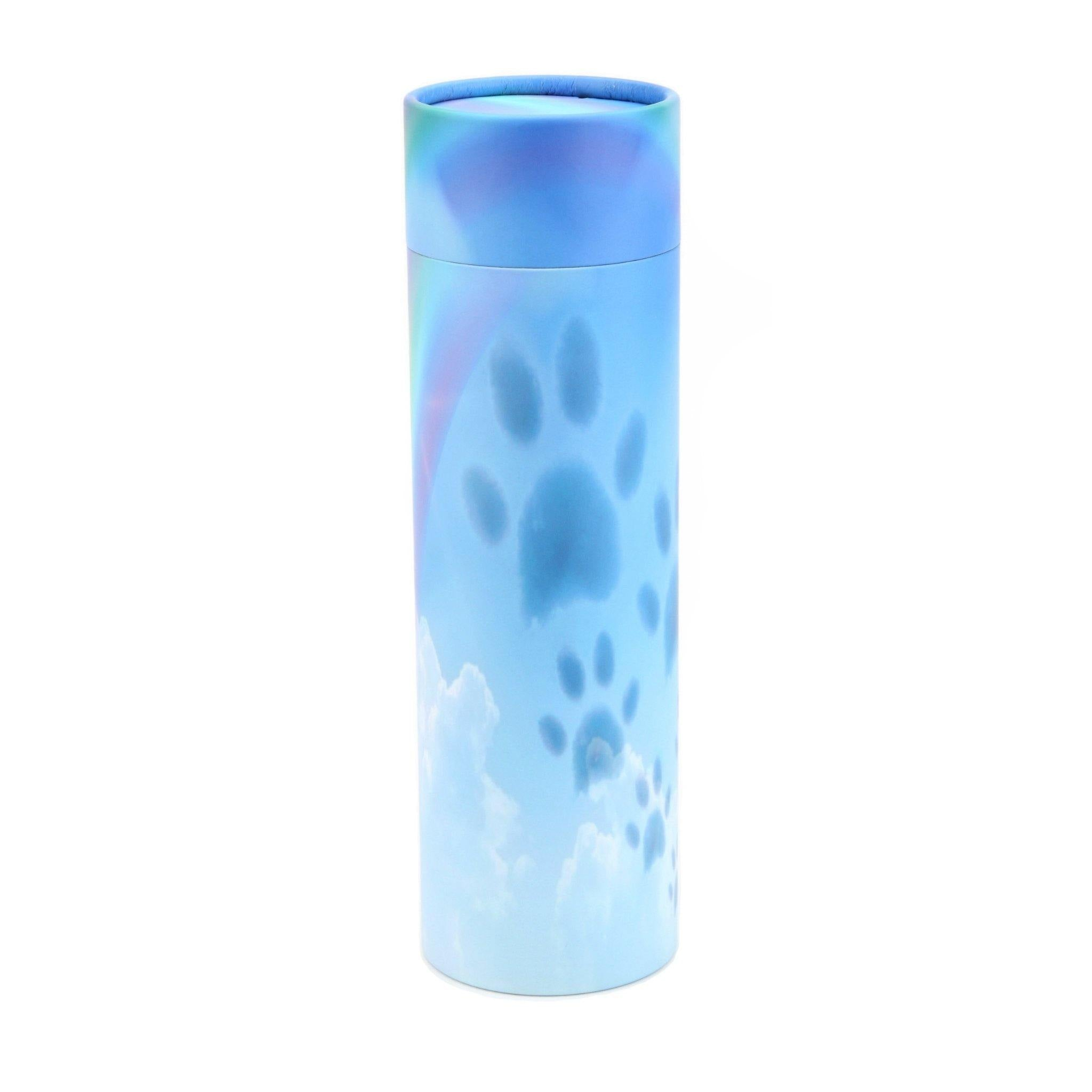 Paws Sky Cremation Ashes Scattering Tube 50CI - Urns UK