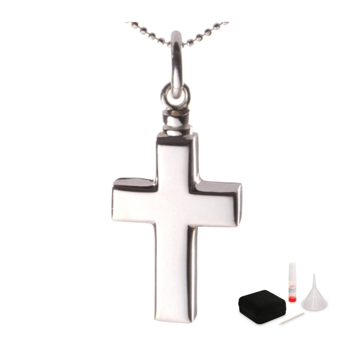 Mayfair Cross Cremation Ashes Pendant 925 Silver