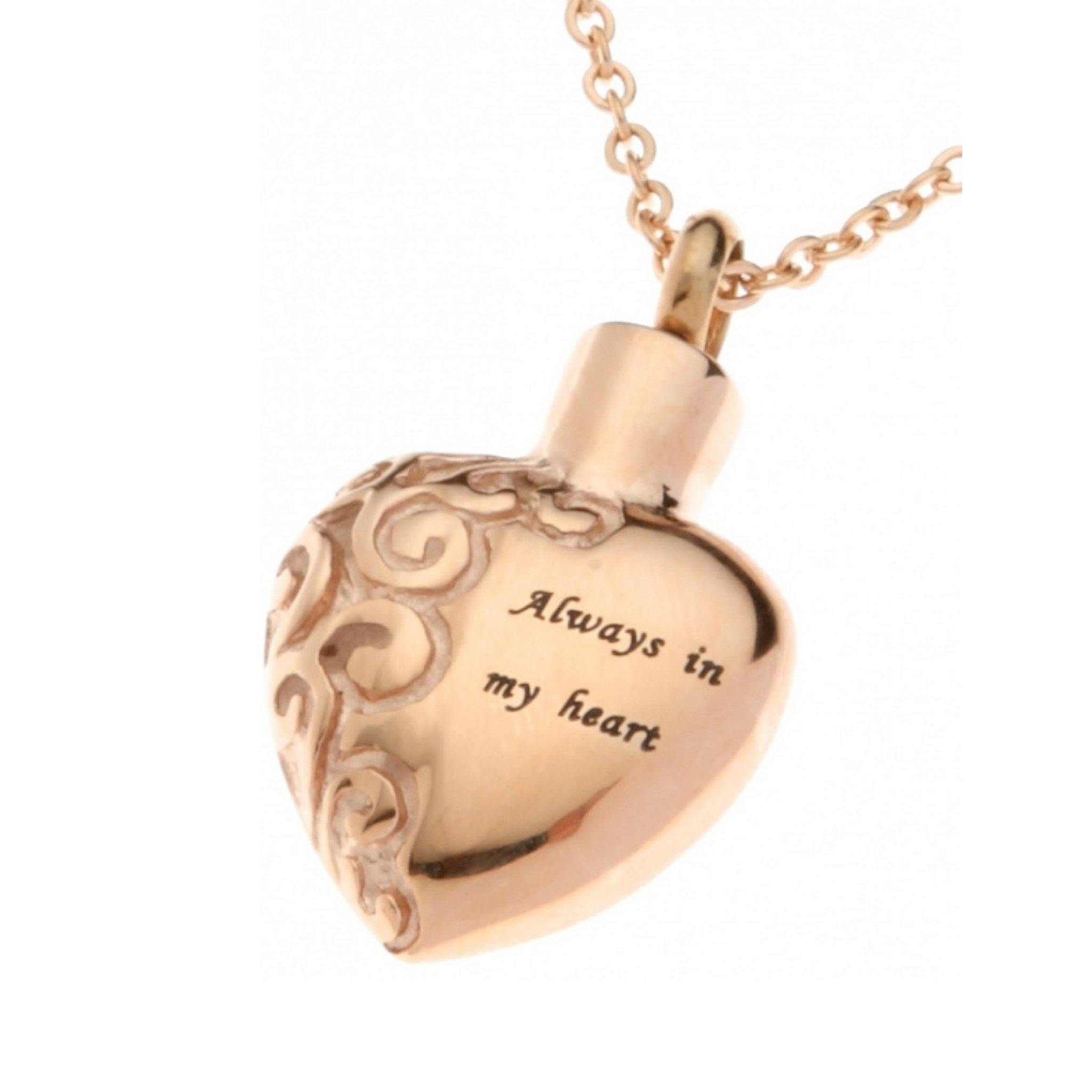 Chelsea Cremation Ashes Pendant Design 13B - Urns UK