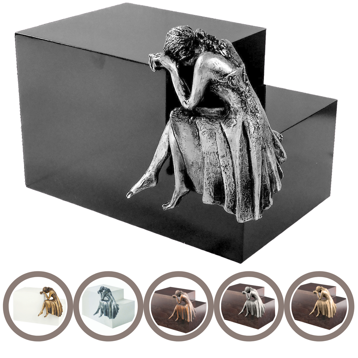 Beaminster Weeping Angel Cremation Ashes Urn - Urns UK