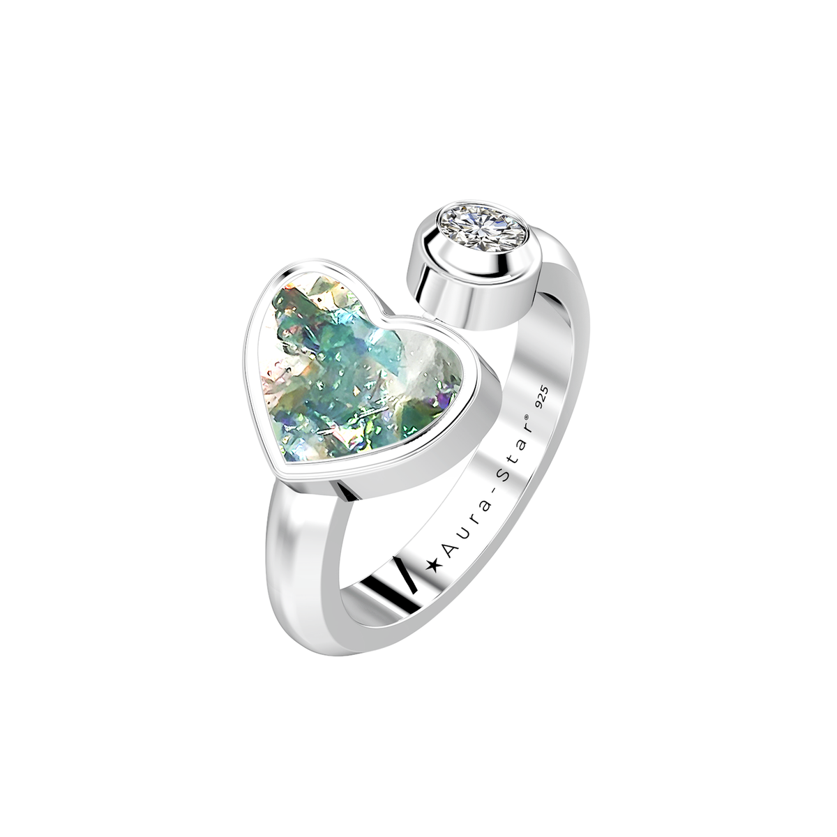 Aura-Star Ashes Infused Ring Respect - Urns UK