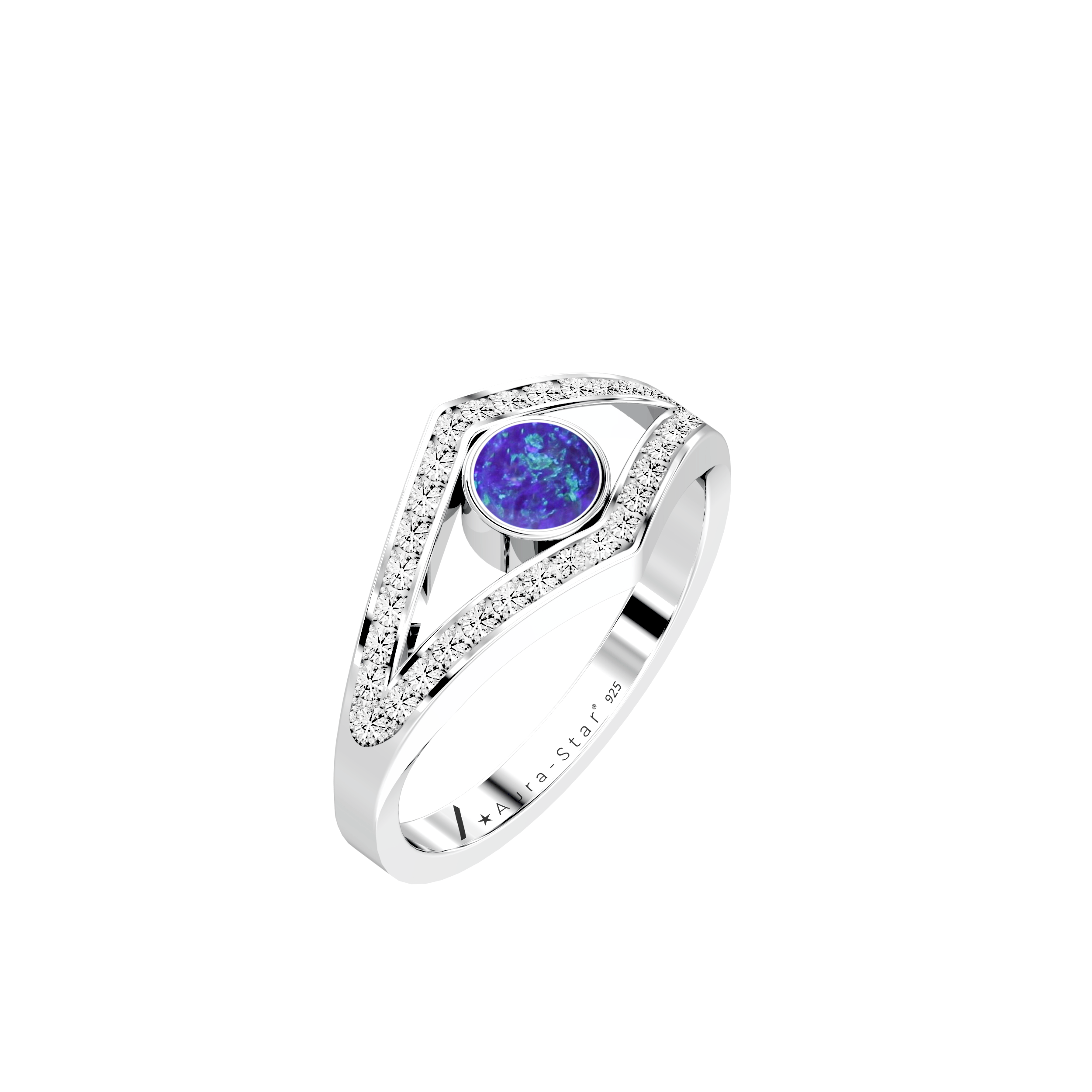 Aura-Star Ashes Infused Ring Enshrine - Urns UK