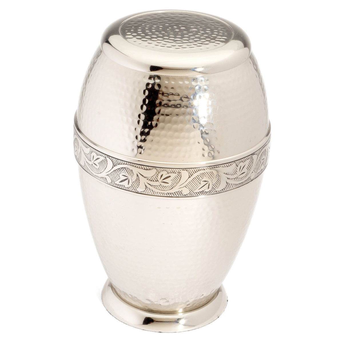 Ascot Nickel Cremation Ashes Urn Adult