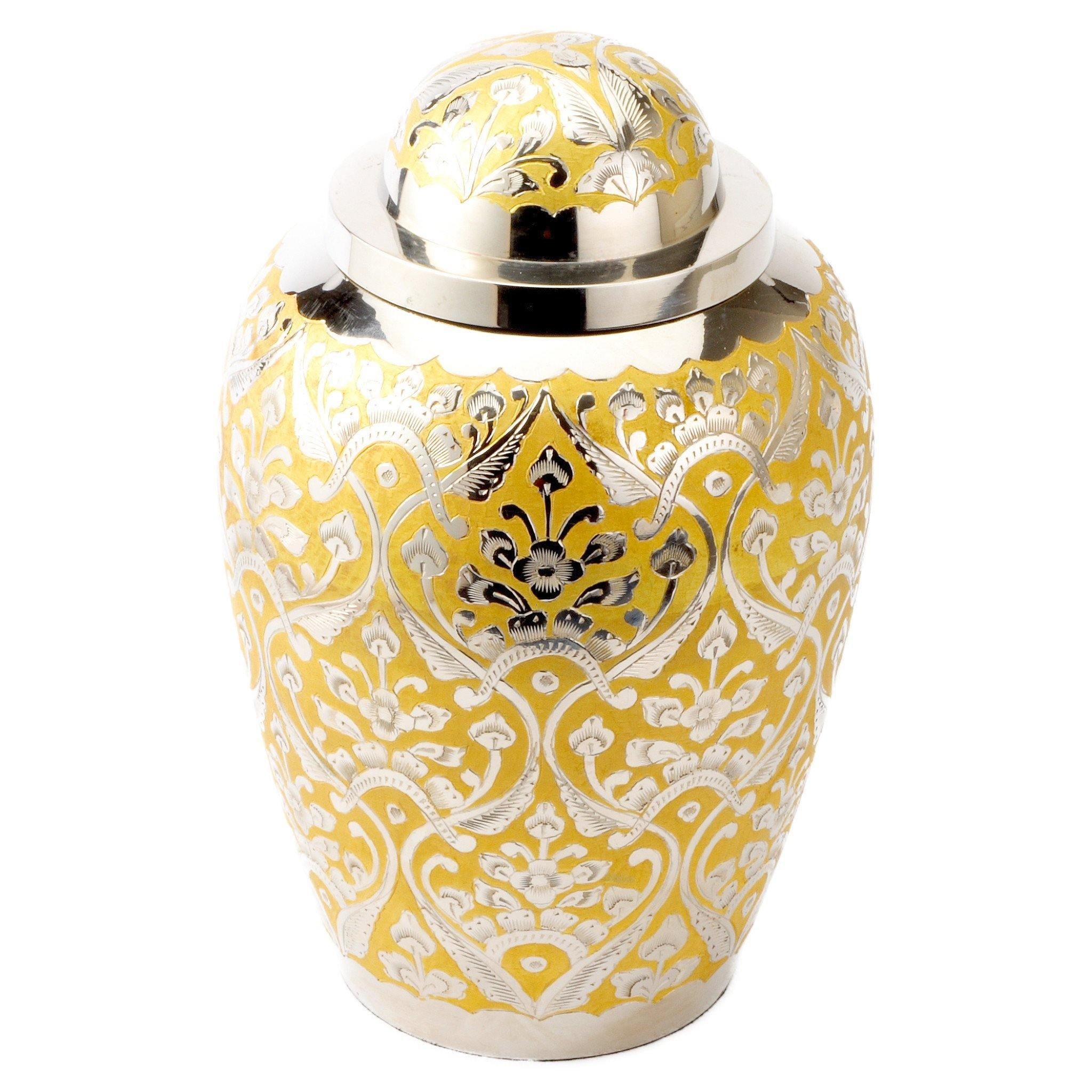Devon Gold Cremation Ashes Urn Adult - Urns UK