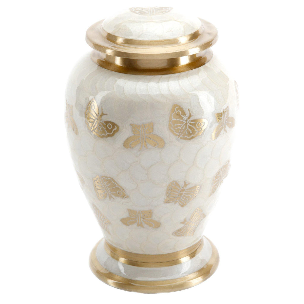 Burford Pearl Cremation Ashes Urn Adult - Urns UK