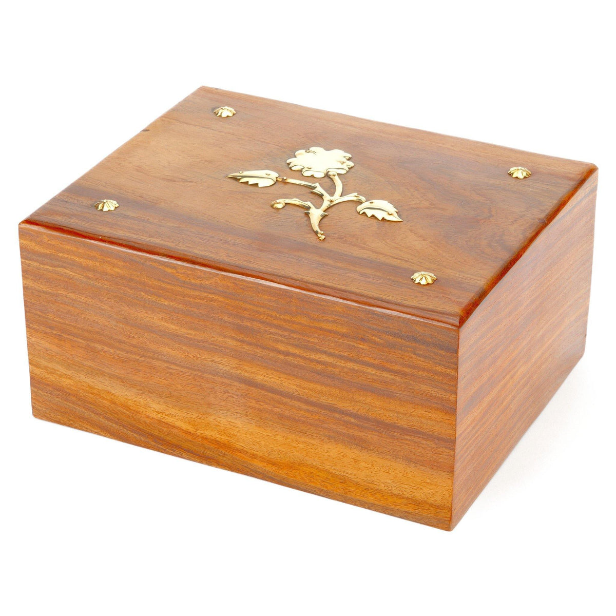 Hadley Wooden Cremation Ashes Urn - Urns UK