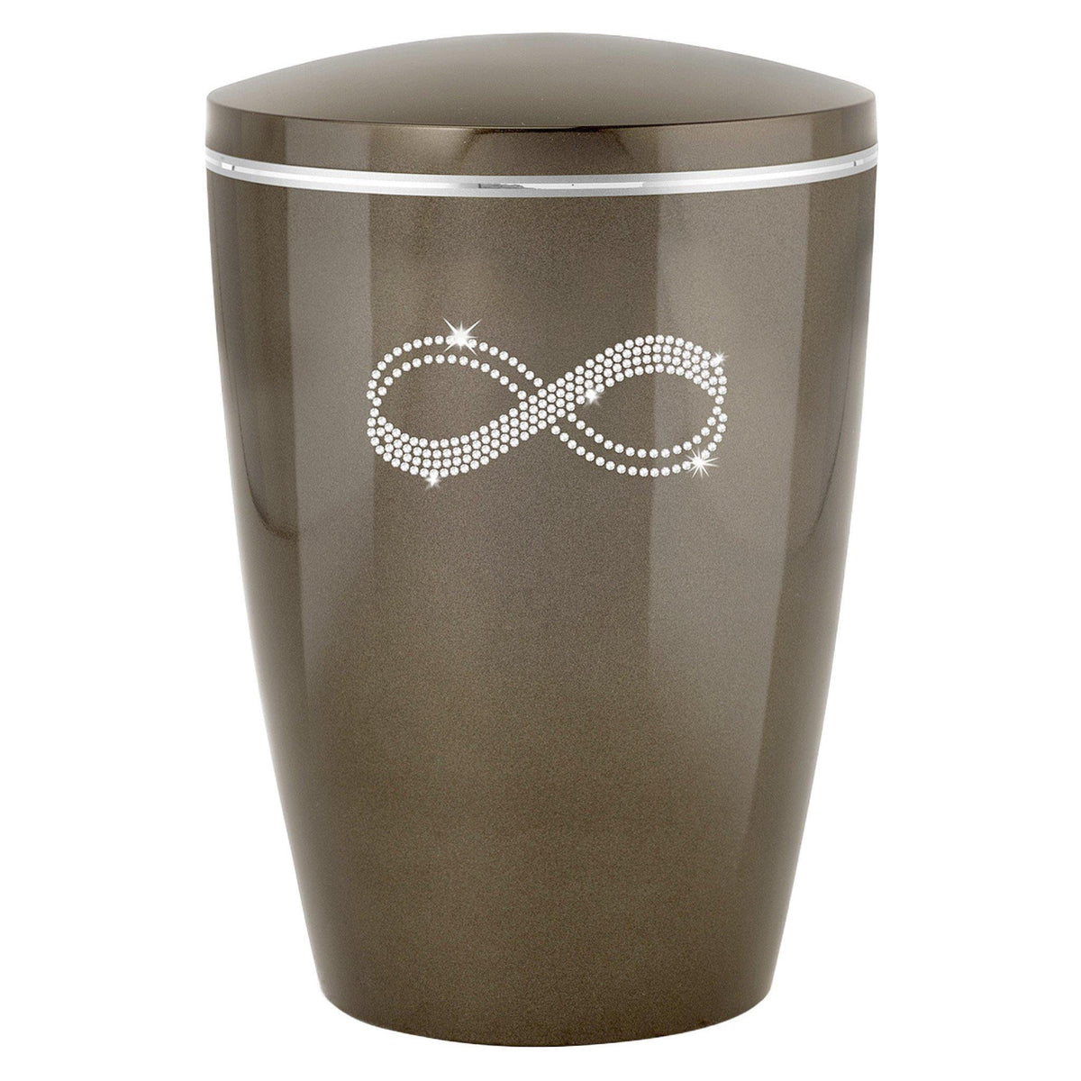 Crystal Infinity Biodegradable Cremation Ashes Urn - Urns UK